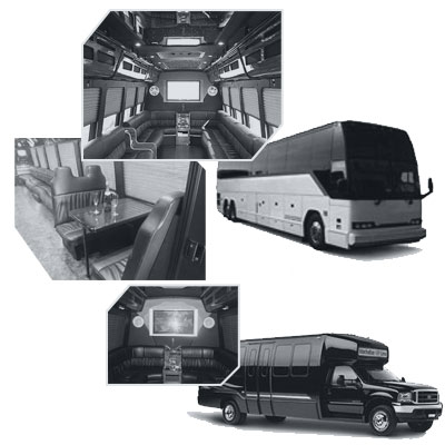 Party Bus rental and Limobus rental in Sacramento, CA
