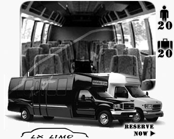 Sacramento Mini bus for hire in Ontario