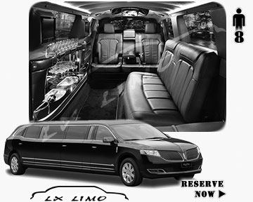 Stretch Wedding Limo for hire in Sacramento, ON, Canada